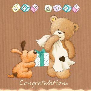 New Baby Cute Card